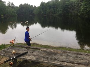 JJRosario Fishing at Black Rock State Park